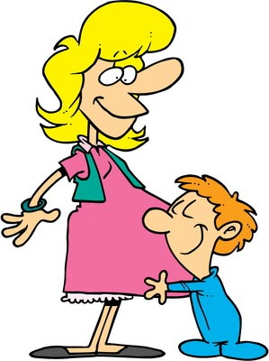 mom-pregnant-kid