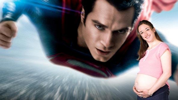 superman-pregnantwoman