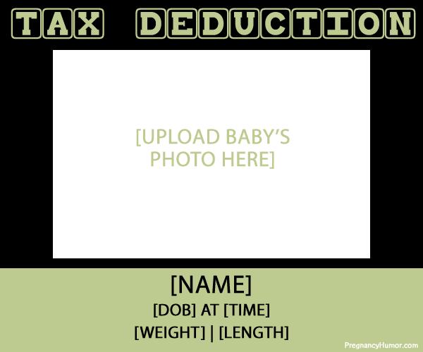 Funny Birth Announcements Pregnancy Humor – Birth Announcement Funny
