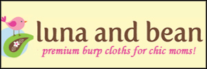 Premium burp cloths for chic moms!