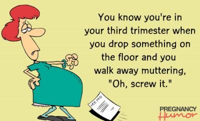 Funny Third Trimester eCard