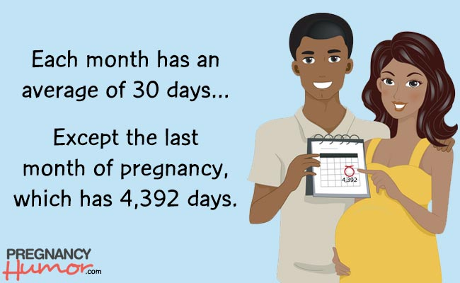 fun fact about the last month of pregnancy