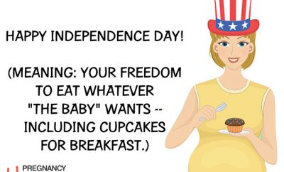Fourth of July Pregnant